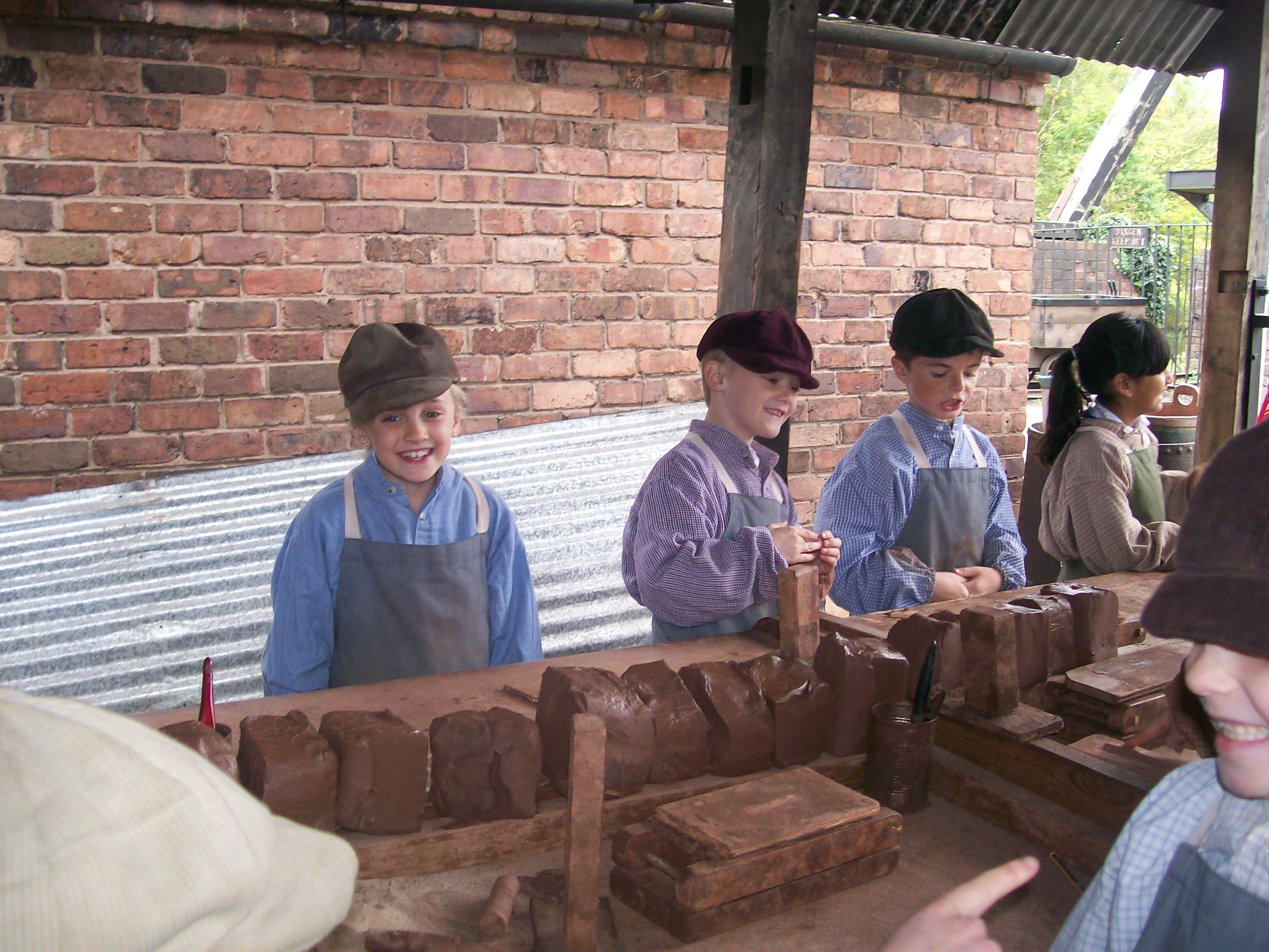 Brick Making Session