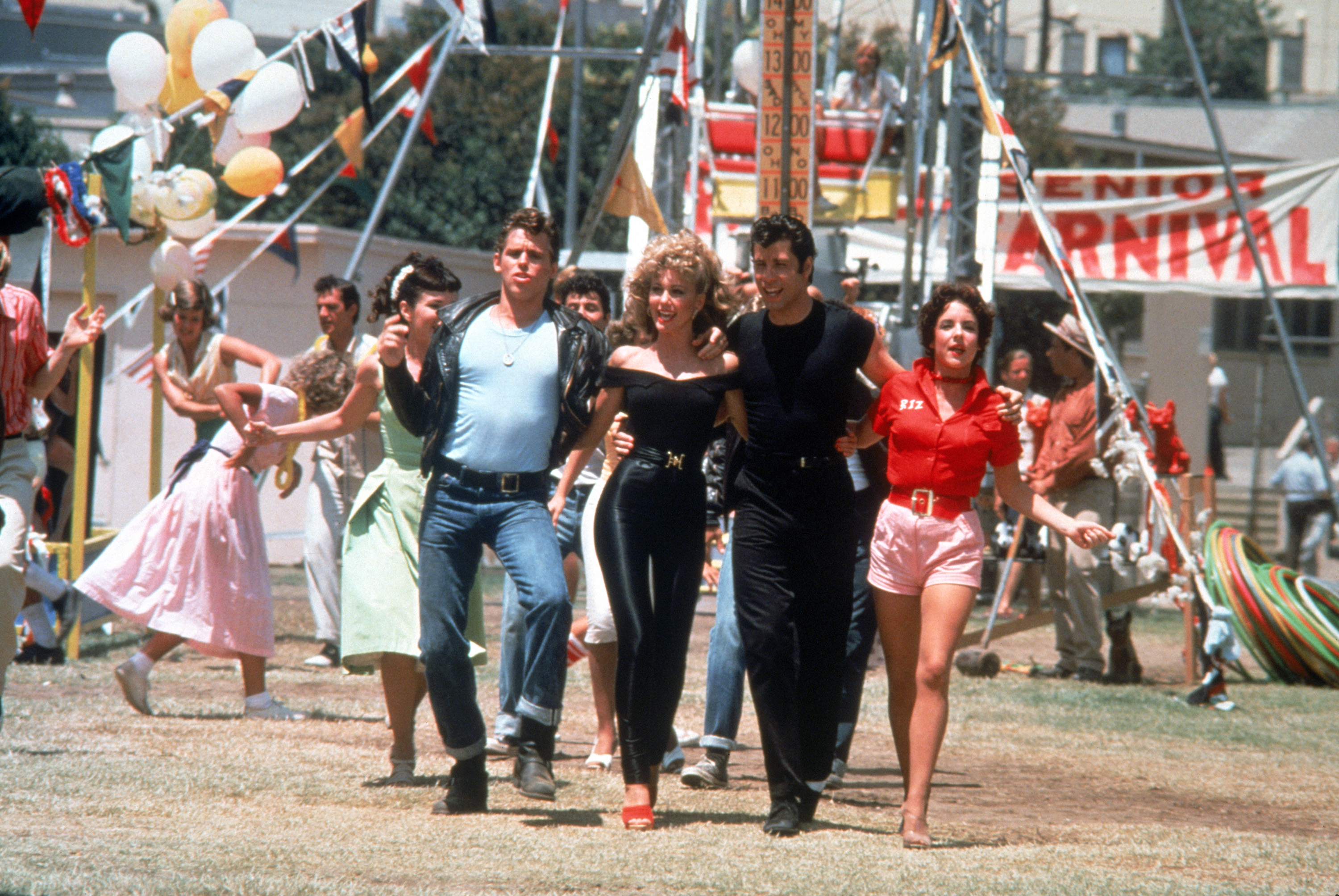 40th anniversary Grease outdoor cinema experience