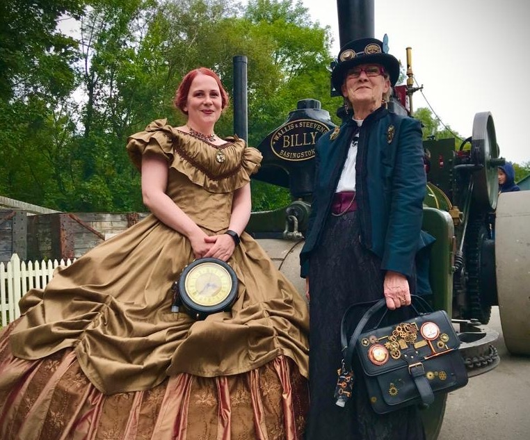 Power of steam draws the crowds at Blists Hill