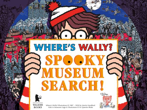 Wally is on his way to Blists Hill – but can you find him?