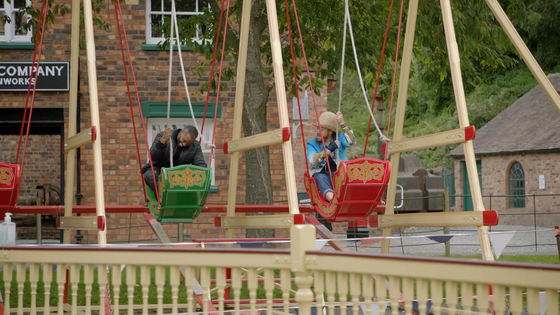 TV celebrities get into the swing at Blists Hill Victorian Town